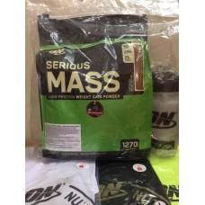 Serious Mass 12LBS (5,44kg) Tặng Bình ON+ áo phông đủ màu