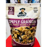 QUAKER SIMPLY GRANOLA OATS WITH HONEY, RAISINS & ALMONDS (978 GRAM)